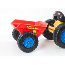 Příslušenství G21 vlečka k šlapacímu traktoru červená 690817