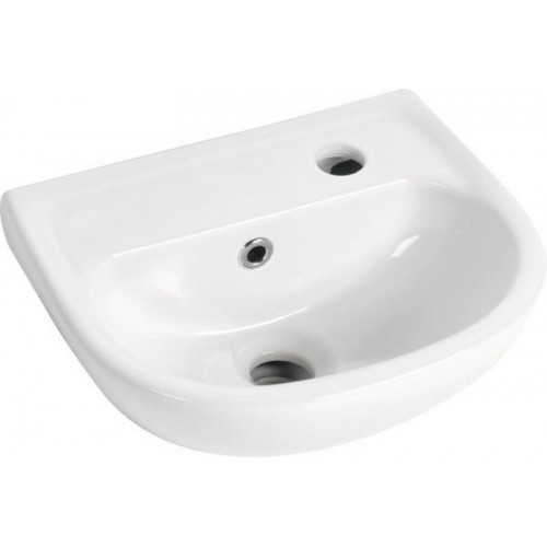 AQUALINE SMALL keramické umývátko 35x29cm, TP135