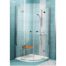 RAVAK SmartLine SMSKK4-80 čtvrtkruhový sprchový kout, chrom+transparent 3S244A00Y1