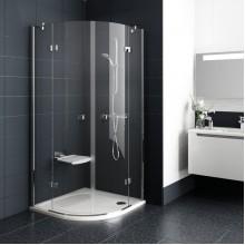 RAVAK SmartLine SMSKK4-90 čtvrtkruhový sprchový kout, chrom+transparent 3S277A00Y1