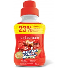 SODASTREAM Sirup Retro Kola Citrus 750ml 42001179