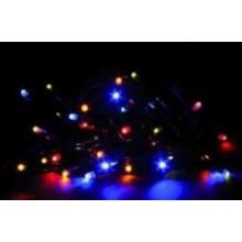 Vánoční osvětlení 200 LED - stálesvítící - BAREVNÉ VS455