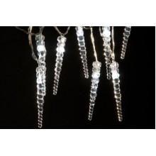 Vánoční osvětlení 20 LED Rampouchy - BÍLÉ VS462