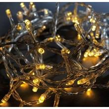 Vánoční osvětlení 200 LED - TEPLÉ BÍLÉ / 20LED bliká VS466