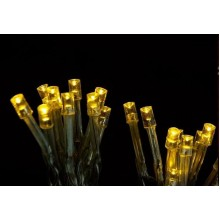 Vánoční osvětlení řetez 3,9m 50 LED - TEPLÁ BÍLÁ VS472