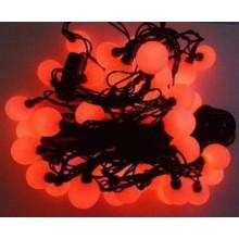 Vánoční osvětlení Koule 2,5 cm - 40 LED - ČERVENÉ VS5202