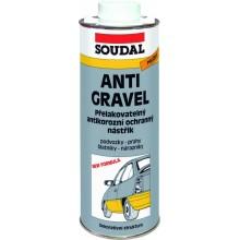 SOUDAL Antigravel přelakovatelný nástřik 1 kg, černá