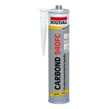 VÝPRODEJ SOUDAL CARBOND 940FC konstrukční lepidlo 310 ml, černá PROŠLÉ DATUM EXPIRACE - 6/2017