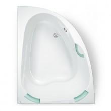 TEIKO Vana Spinell 160 L rohová 160x125 cm, akrylátová, bílá, levá V110160L04T02001