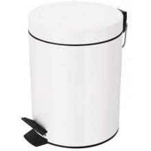 SPIRELLA SYDNEY Odpadkový koš 5L white 1016395