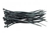 Stahovací pásky 4,8x200mm černé/50ks