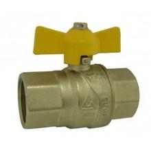 """Plynový kulový kohout 3/4"""", MF 3300M, motýl, MOP5, 03300340"""