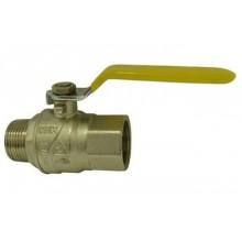 """Plynový kulový kohout 1/2"""", MF 3100, páka, MOP5, 0310012"""