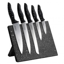 STONELINE Sada nožů s magnetickým blokem 6 ks WX-14140
