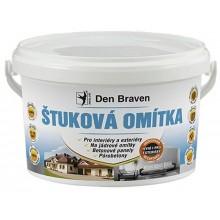 Den Braven Štuková omítka 14 kg, kbelík, bílá