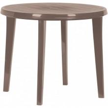 CURVER LISA stůl 90 x 73cm, Cappuccino 17180053