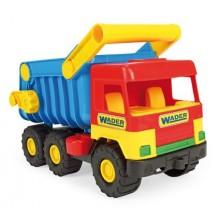 Auto middle Truck sklápěč, plast, 38cm, Wader 89032051