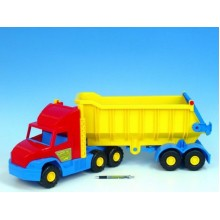 Auto Super Truck sklápěč, plast ,75cm, Wader 89036400