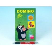 Domino Krtek společenská hra na cesty 28ks 21621251