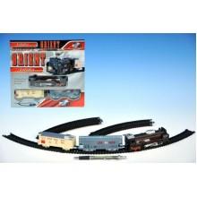 Orient Vlak + 2 vagony, délka dráhy 210cm, na baterie, se světlem 23220292