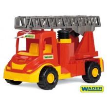 Auto multitruck hasiči, plast, 43cm, Wader 89032170