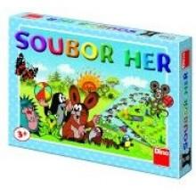 Krtek Soubor her 6 her společenská hra pro nejmenší 21623224