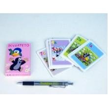 Kvarteto Krtek a sýkorka společenská hra - karty 10703341