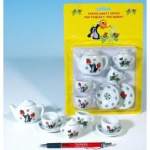 Nádobí - čajový set Krtek porcelán 49170804