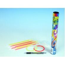 Náramky svítící 20cm 15ks v tubě 00520647
