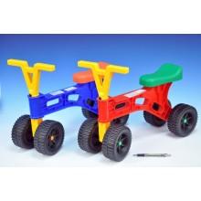 Odrážedlo Roloped výška sedadla 27cm,dvě různé barvy 48000303