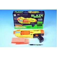 WIKY Pistole na pěnové náboje plast 34cm na baterie 3xAA 49110767