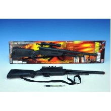 Pistole - Puška, plast, 67cm, klapací 00075210