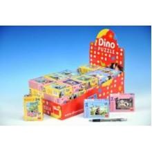 Minipuzzle Krtek 19,8x13,2cm 54 dílků, různé druhy 21331068