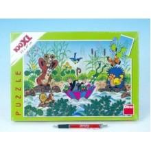 Puzzle Krtek Krtečkova plavba 47x33cm 100 dílků XXL 21343061
