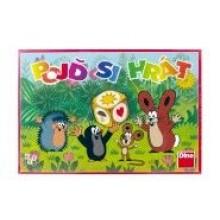Pojď si hrát Krtek dětská společenská hra 21000084
