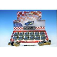 Auto Kinsmart Subaru Impreza WRC 2007 kov 12,5cm na zpětné natažení 60520021