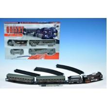 Orient Vlak + 3 vagóny, délka dráhy 280cm, na baterie, se světlem 23220306