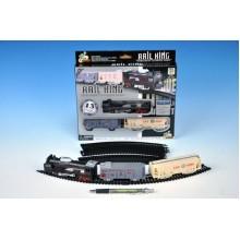 WIKY Vlak s kolejemi plast 67cm na baterie 49110785