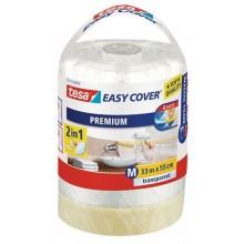 TESA Easy Cover zakrývací fólie, malířská páska a náplň 33m x 0,55m 57115-00000-03