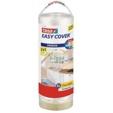 TESA Easy Cover zakrývací fólie, malířská páska a náplň 17m x 2,6m 57117-00000-03