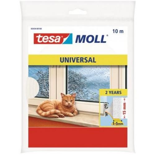 TESA MOLL Pěnové těsnění, na okna a dveře, bílé, 10m x 25mm x 6mm 05454-00101-00
