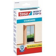TESA Síť proti hmyzu STANDARD, do dveří, antracitová, 2x 0,65m x 2,2m 55679-00021-02