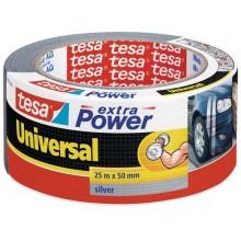 TESAOpravná páska Extra Power Universal, textilní, silně lepivá, stříbrná, 25m x 50mm 56388-00000-12