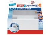 TESA Powerstrips Waterproof háček voděodolný, košík, nerez ocel a plast, nosnost 3kg 59711-00000-01