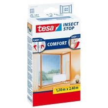 TESA Síť proti hmyzu COMFORT, na francouzské okno, bílá, 1,2m x 2,4m 55918-00020-00