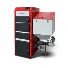 TOPmax Top-DUAL multi 25 Automatický kotel na uhlí, pelety a dřevo, pravý TOP446-25-101/P