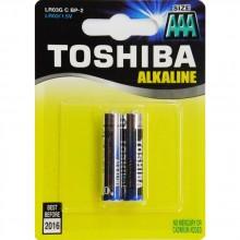 TOSHIBA Alkalické tužkové baterie LR03 2BP AAA 35040106