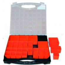 Organizér 400x370x60mm, přestavitelné boxy, 100-03609