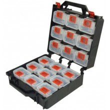 Organizér plastový dvojitý 300x350x145 mm s vyjímatelnými boxy 95x65x65 mm, 100-05079