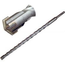 Vrták vidiový do betonu, 4 břity, 15 x 210 mm, SDS Plus, 100-01036